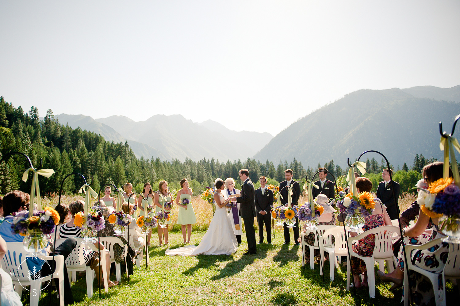 Mountain Wedding in Leavenworth: Sara and Kenny