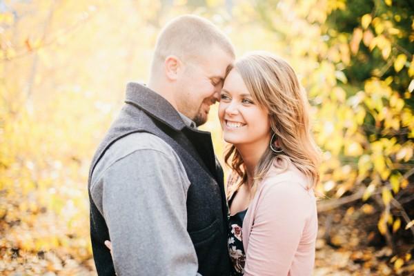 Mike and Colette's Washington Forest Engagement- Washington State Wedding Photography