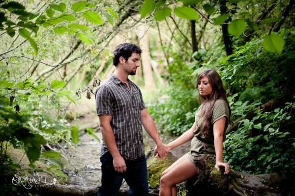 Luke and Rebecca's Camping Engagement Session - Federal Way Engagement Photography