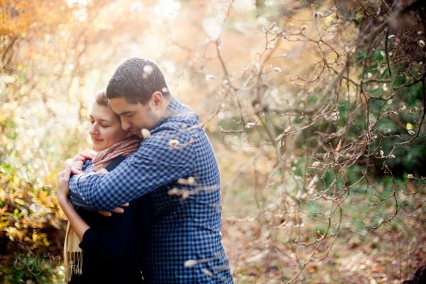 Matt and Katie's Washington Park Arboretum Engagment - Seattle Engagement Photography