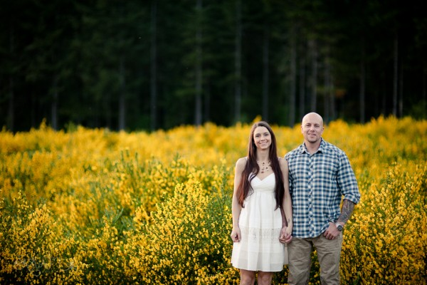 Lauren and George's Mountain Engagement- North Bend Engagement Photography