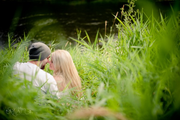 David and Danielle's Sammamish River Trail Engagement- Woodinville Engagement Photography