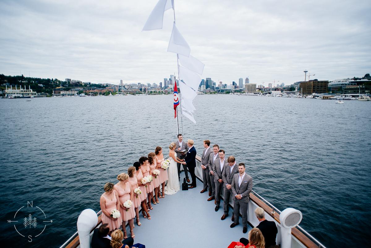 seattle boat wedding