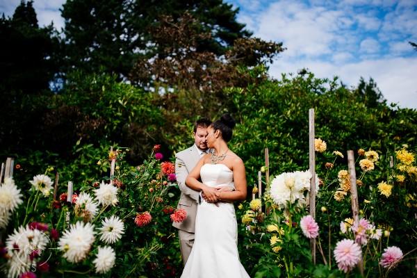Sasha and Trevor's Botanical Seattle Wedding:  Sneak Peek