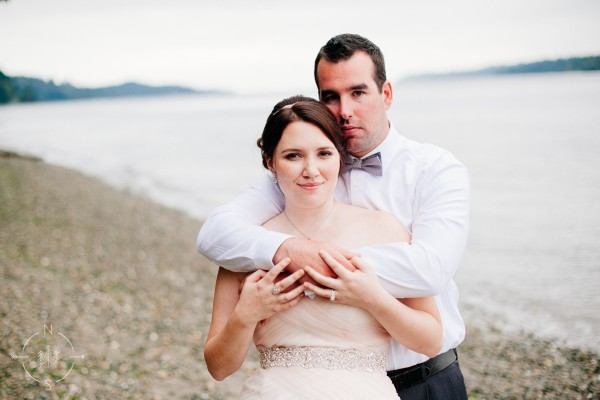 Tina and Justin's Waterfront Gig Harbor Wedding:  Sneak Peek