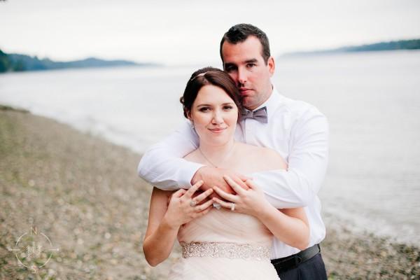 Tina and Justin's Waterfront Gig Harbor Wedding:  Sneak Peek