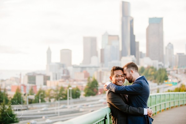Reed and Phil's Seattle Wedding:  Sneak Peek