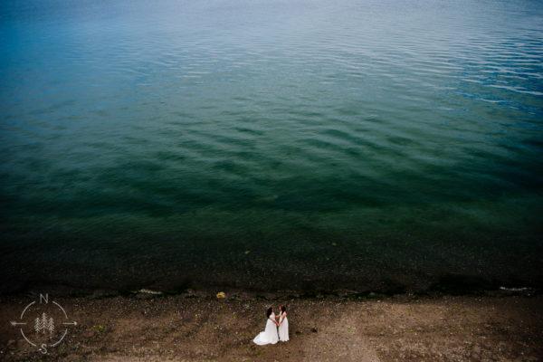 Jessica and Kyleigh's Whidbey Island Wedding at the Wayfarer Farm: Sneak Peek
