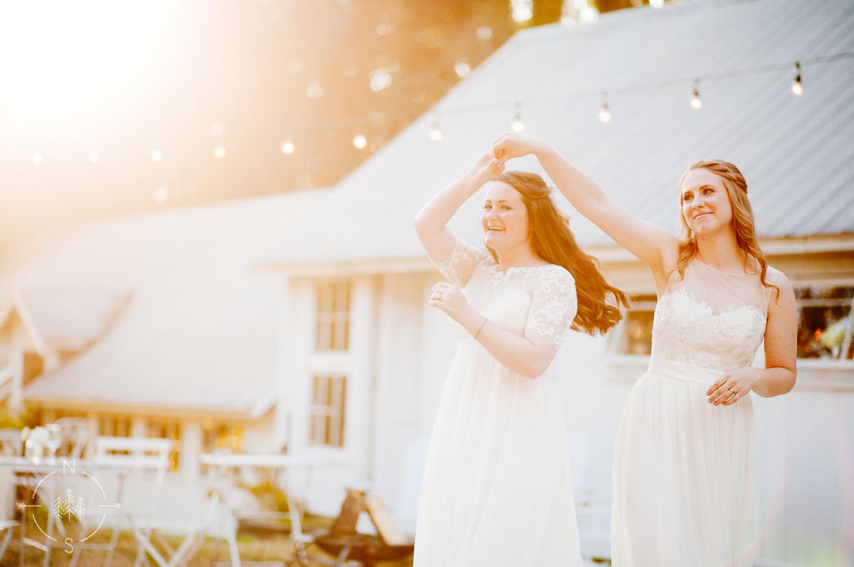 Ethereal Washington Wedding