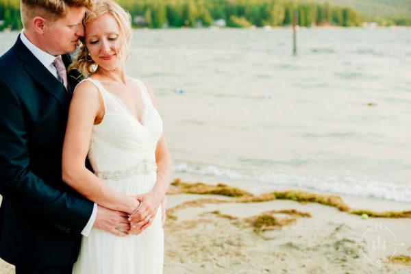 Jen and Brian's backyard wedding in Sandpoint, Idaho: Sneak Peek