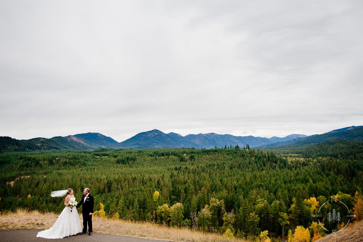 Fall Wedding Suncadia