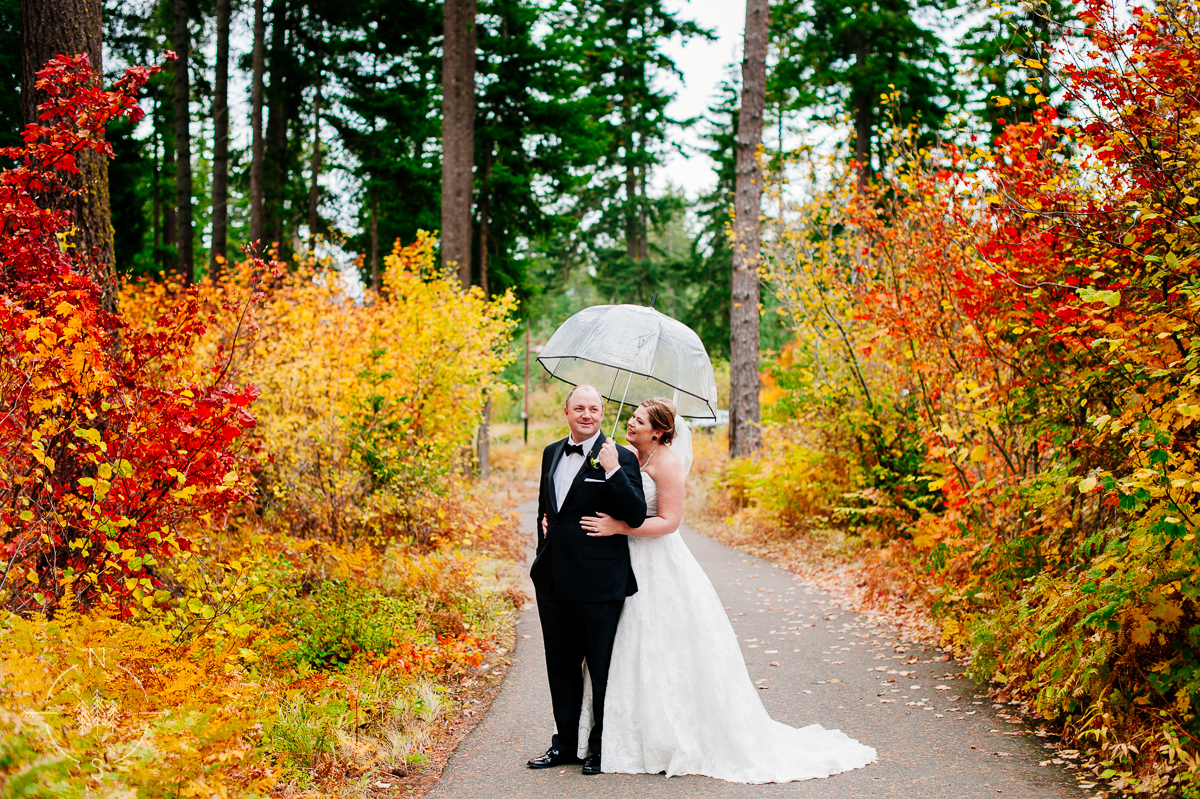 Suncadia Fall Wedding
