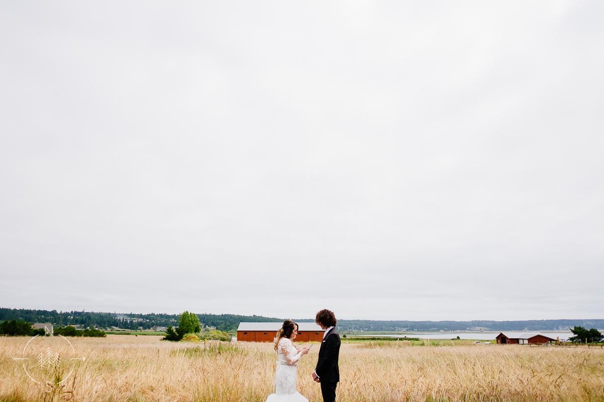 Farm Wedding Whidbey Island