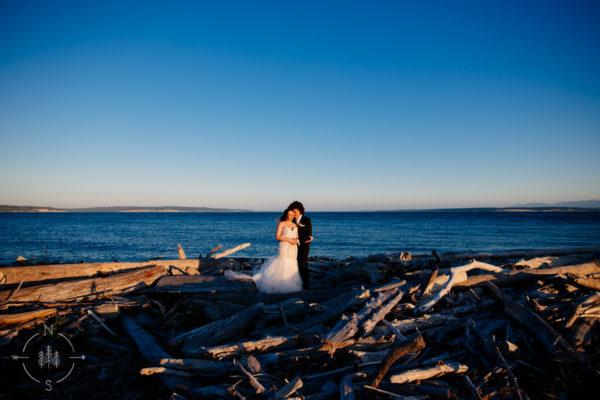 Whidbey Island Wedding at Crockett Farm:  Alisyn and Cody