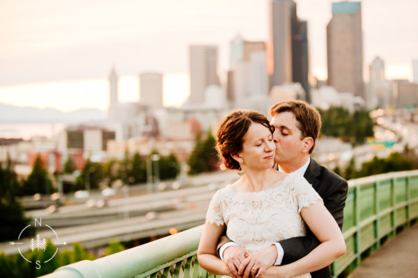 April and Doug's Pacific Tower Wedding in Seattle